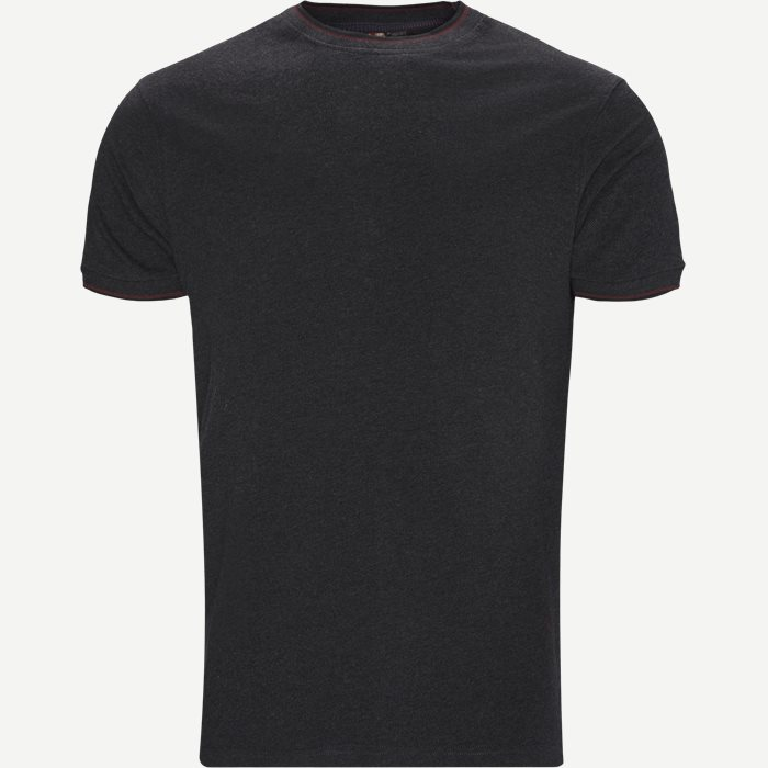 Croix Crewneck T-shirt - T-shirts - Regular - Grå